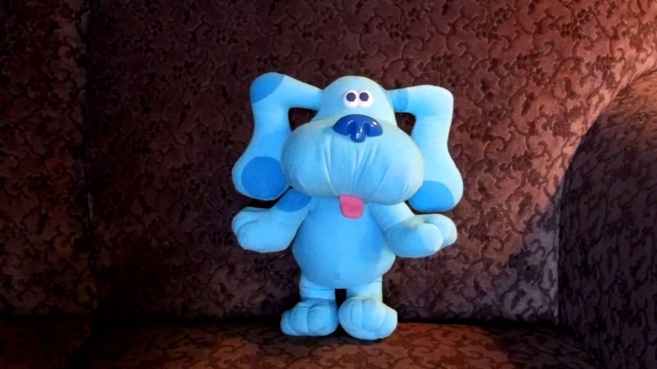 blues clues sing along blue singing barking dog youtube