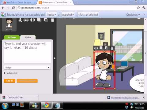 Como crear una caricatura animada sin programa youtube for Programa para amueblar cocinas gratis