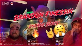 Brandon Finessin Plays INSANE Beats 😱
