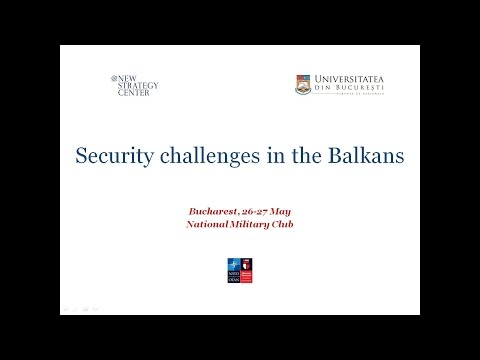 Security challenges in the Balkans - 26 May 2016