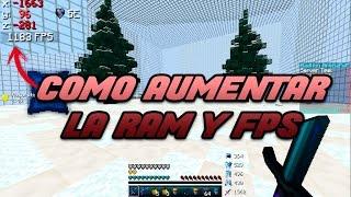 COMO AUMENTAR LA RAM Y MEJORAR EL RENDIMIENTO DE MINECRAFT AL 100%