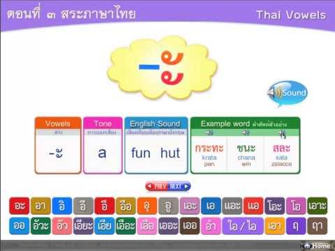 CAI สอนภาษาไทยแก่ชาวต่างชาติ Thai_easy_Learning