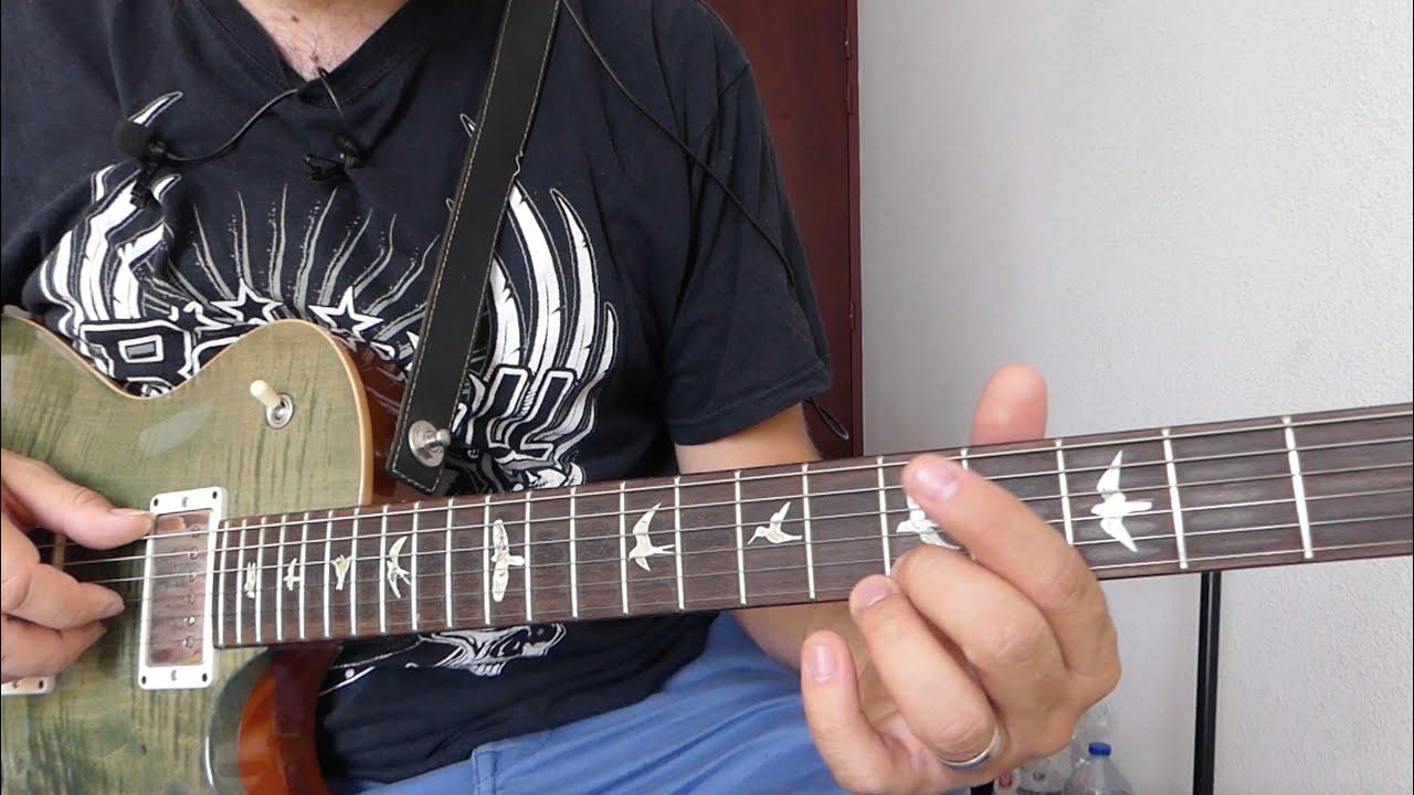 Blues majeur en A7 tranquillou - Power Corde (dit on encore tranquillou?)