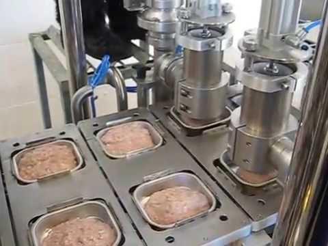 Двухрядный автомат мод. TDP-3L-2 для фасовки в ламистерную/пластиковую тару