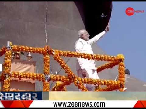 Statue of Unity: PM Narenda Modi: Modi performs 'Rashtrarpan Hetu Puja'