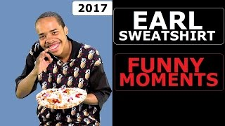 Earl Sweatshirt FUNNY MOMENTS (BEST COMPILATION)