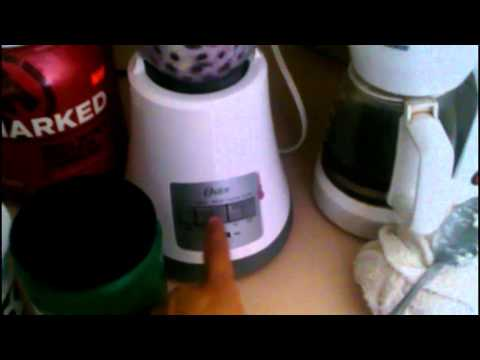 ISB FITNESS: blueberry banana protein smoothie