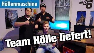 Team Hölle liefert! Roadtrip zum Gewinner der Höllenmaschine Ultra VR | deutsch / german