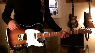 Traveling Wilburys - Heading for the Light - Guitar Lesson Playthrough