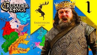 Download Video ROBERT'S REBELLION! Crusader Kings 2: Game of Thrones: House Baratheon #1 MP3 3GP MP4