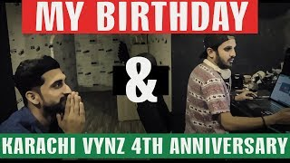 MY BIRTHDAY and KARACHI VYNZ 4th ANNIVERSARY | VLOG 07 | Mansoor Qureshi MAANi