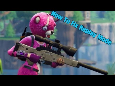 How To Fix Replay Mode In (Fortnite Chapter 2 Season 2)