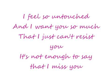 Untouched The Veronicas-Lyrics
