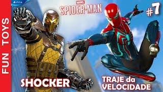 Marvel Spider-Man #7 🕷 Mostramos o TRAJE da VELOCIDADE e PODERES! Alem disso perseguimos o SHOCKER thumbnail