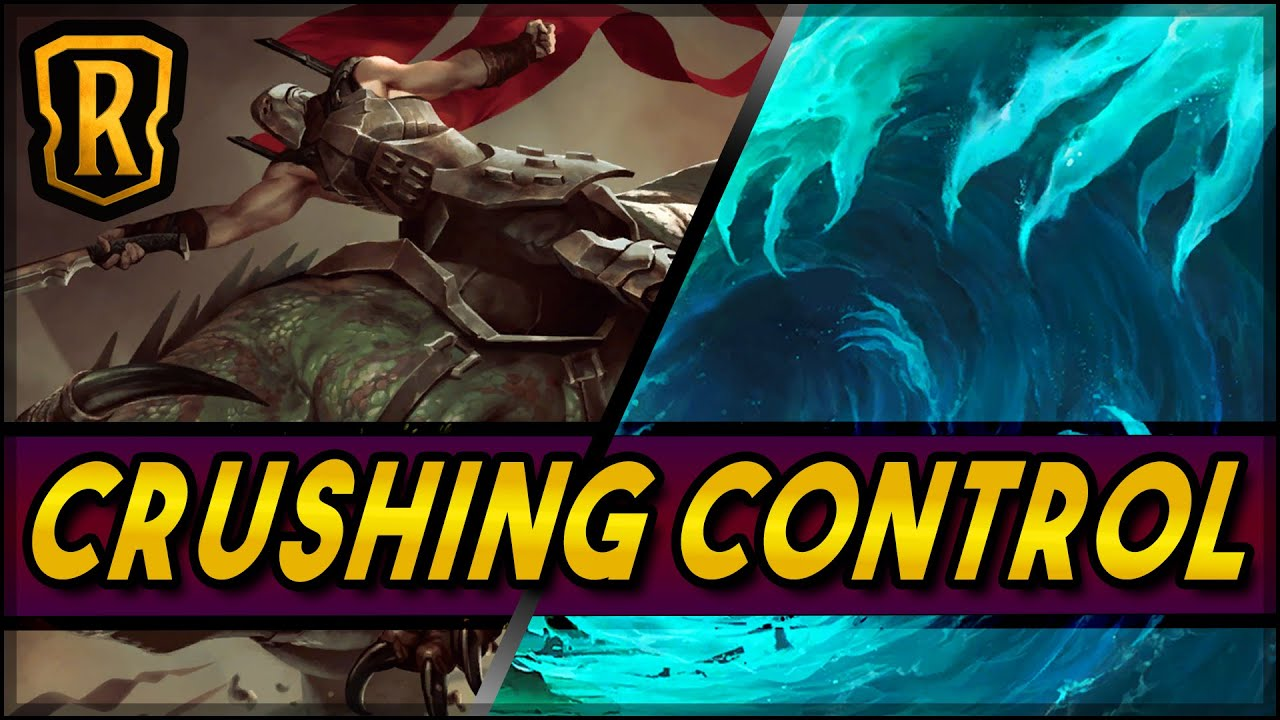 Crushing Control (Noxus Aggro) | Season of Fortune | LoR Game | Legends of Runeterra