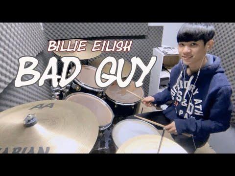 【BAD GUY】- Billie Eilish怪奇比莉 / DRUM COVER BY 李科穎KE #爵士鼓