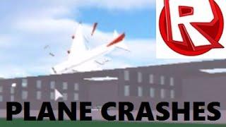 ROBLOX Plane Crashes #2