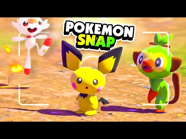 Finding Rare Starter POKEMON in the New Pokemon Snap!