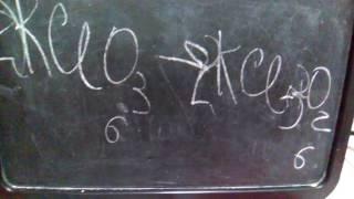 Как поставить коэффициенты в химических уравнениях
