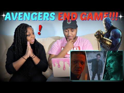 Marvel Studios Avengers: END GAME Official Trailer REACTION!!!