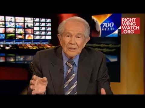 Pat Robertson Says 'Jesus Would Not Have Baked' Wedding Cakes for Gays