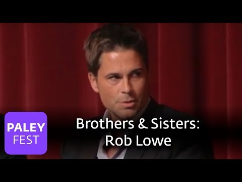 Brothers & Sisters - Rob Lowe on Joining the Cast ...