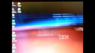 Windows NT 4.0 Workstation running on the IBM ThinkPad T21