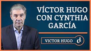 El Destape | Víctor Hugo con Cynthia García, denunciada por Luis Majul