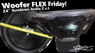 Woofer Flex Friday! Flexing a GIANT 24