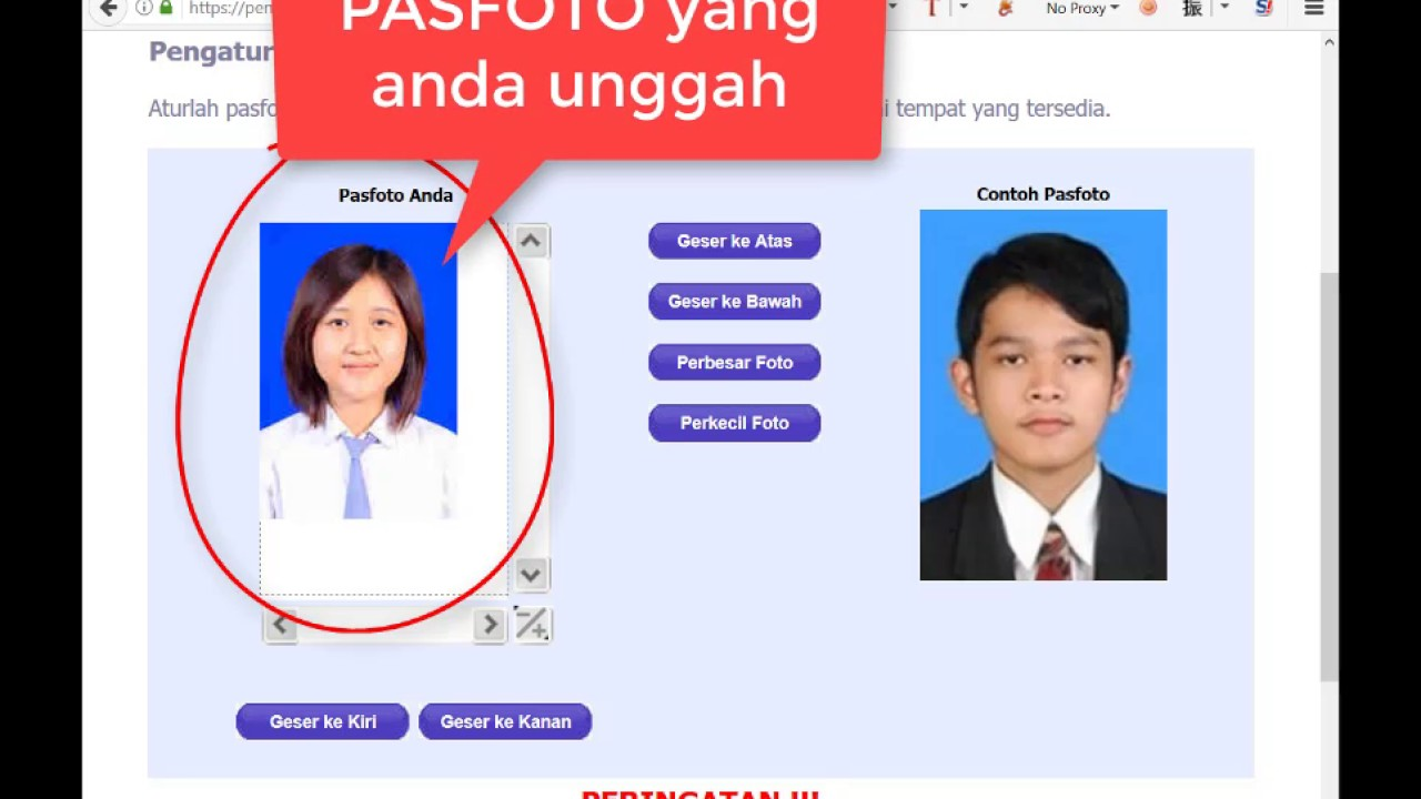 Tutorial Pengisian Form Pendaftaran Sbmptn 2017 Upload Foto Youtube