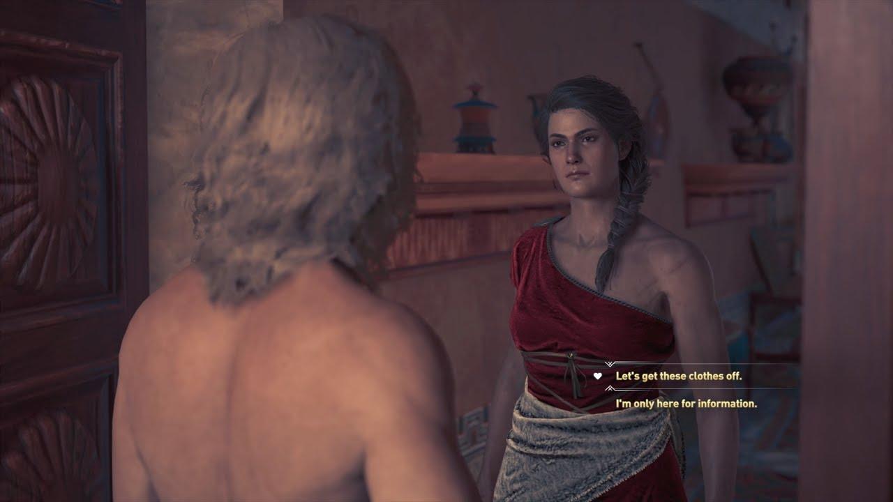 Assassin S Creed Odyssey Kassandra Alkibiades Romance Youtube