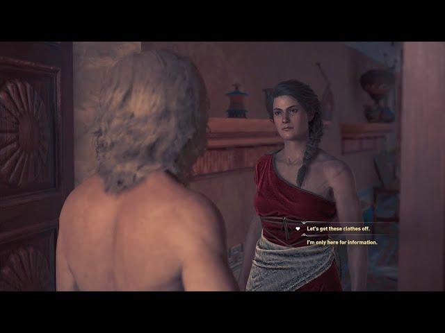 Assassins Creed Odyssey - Kassandra & Alkibiades Romance