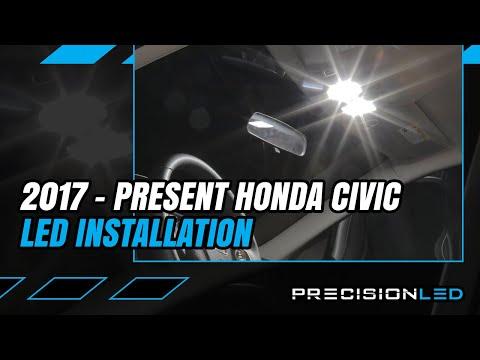 Fits Honda Civic Type R FK2 Bright SMD Bulbs RED Premium Interior LED Kit