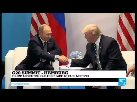 G20 Summit: Trump and Putin hold long-anticipated first face to face meeting