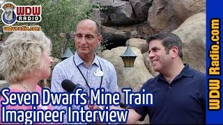 Seven Dwarfs Mine Train Imagineer Interview in New Fantasyland at Walt Disney World