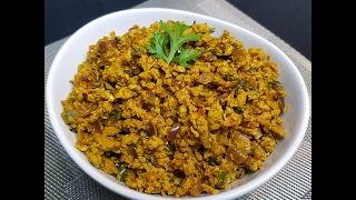 Mumbai Style Egg Bhurji - Dhaba Style !!