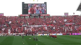 浦和レッズ-ジュビロ磐田 埼玉スタジアム2002 浦和 ホーム開幕戦 2-1で...