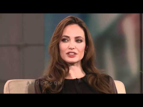 Angelina Jolie talking about her mother