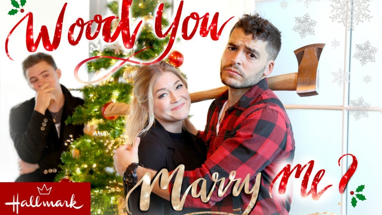 Marry Me For Christmas.Wood You Marry Me Hallmark Trailer