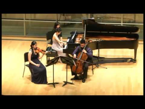 """Beethoven Piano Trio Op. 70 """"Ghost"""""""