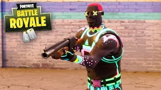 "FORTNITE-NEW SKIN of ""NEON"" VERY AMAZING!!!"