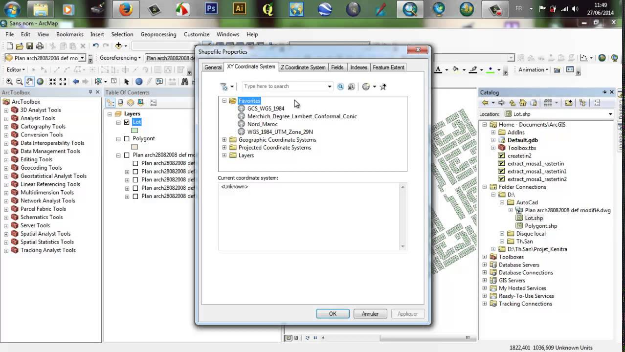 Convert CAD To ArcGis