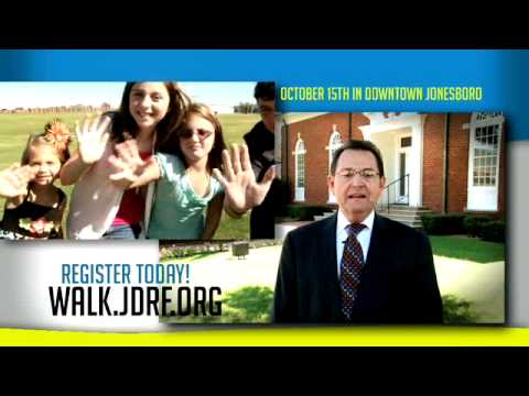 Northeast Arkansas 2011 Walk to Cure Diabetes PSA