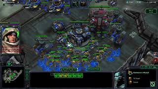 Starcraft ll Co-op Solo Slowruns: Raynor P3 Banshees only on Dead of Night