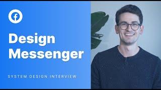 System Design Mock Interview: Design Facebook Messenger screenshot 4