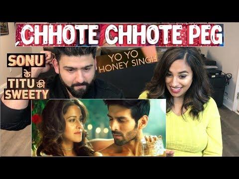 Chote Chote Peg | Yo Yo Honey Singh | Neha Kakkar| SKTKS | Reaction Video |