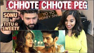 Chote Chote Peg | Yo Yo Honey Singh | Neha Kakkar  | SKTKS | Reaction Video |