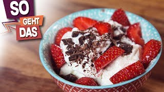 So einfach kann man Frozen Yogurt selber machen!