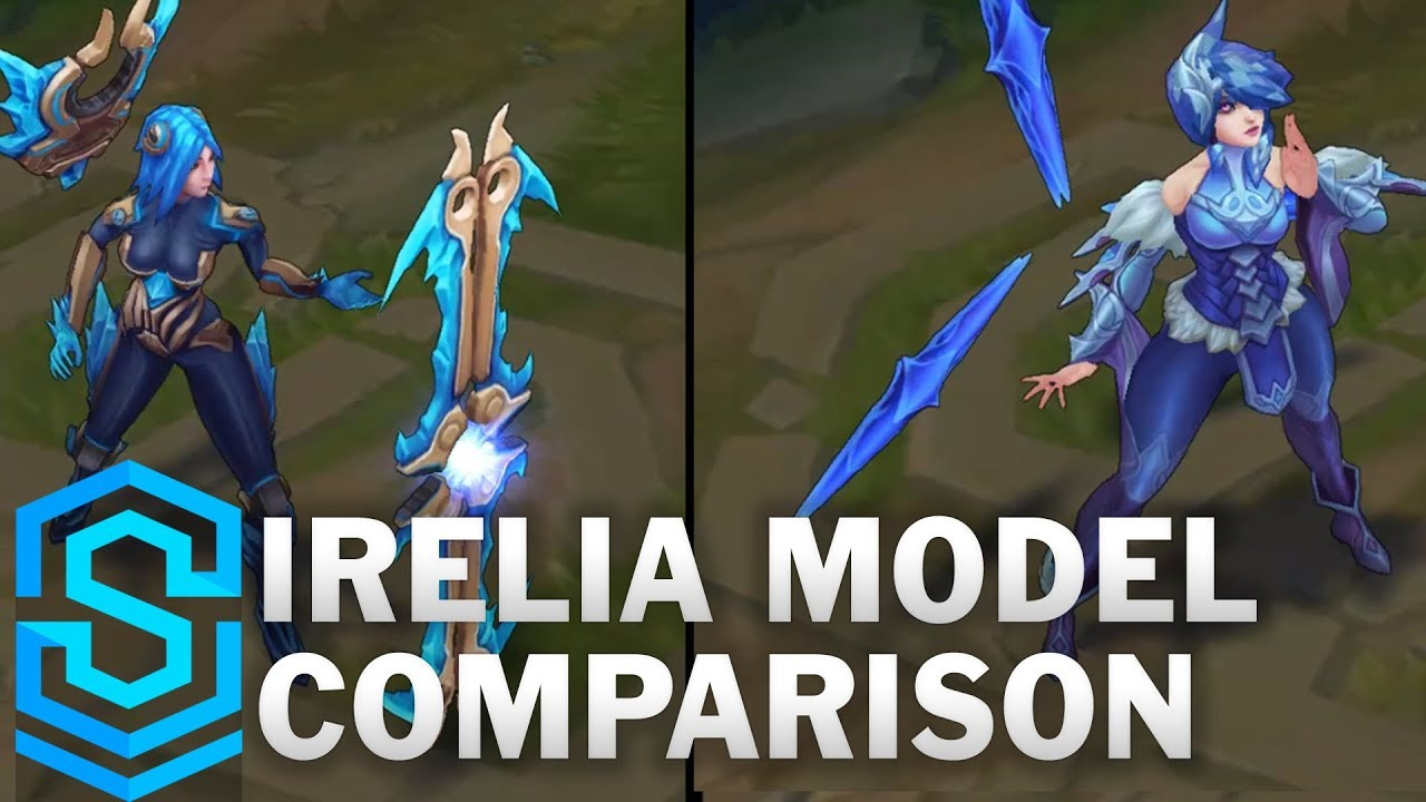 Irelia Rework vs Pre-Rework Comparison Turnaround
