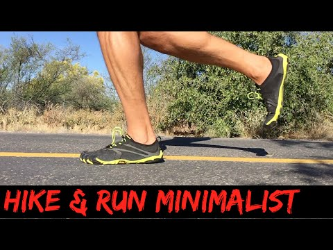 Walking, running hiking and backpacking in minimalist shoes (FiveFingers, etc.)